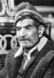 چهره استاد سید محمدحسین شهریار در کهنسالی  /عکس ازخ.صیامی