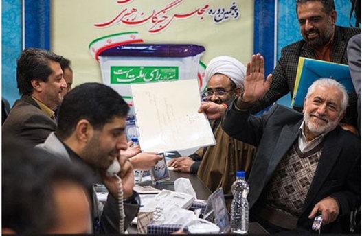 می خواد ادای محسن رضایی رو در بیاره  تکلیفه دیگه تکلیف !