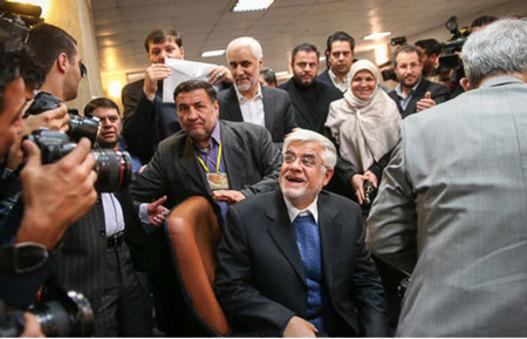 جناب عارف انشالله با کناره گیریشون، می خوان مرحله بعد برای شورای  شهر تهران شرکت کنن