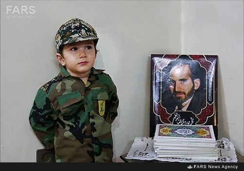 فرزند شهید حمید اسدالهی