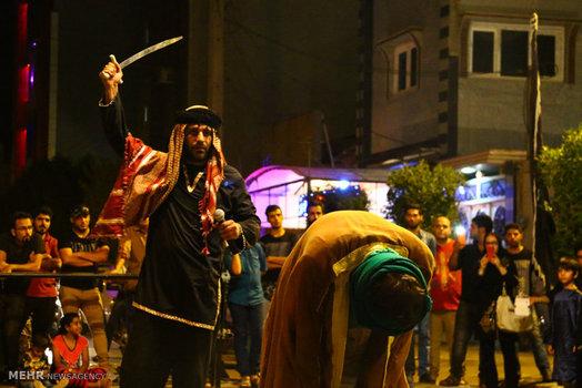 تصاویر تعزیه شهادت حضرت علی (ع)  در شب های قدر