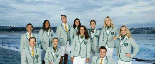 لباس کاروان ورزشی استرالیا