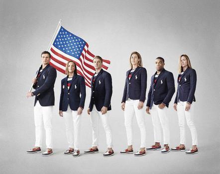 لباس کاروان ورزشی آمریکا
