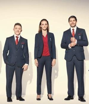 لباس کاروان ورزشی انگلستان