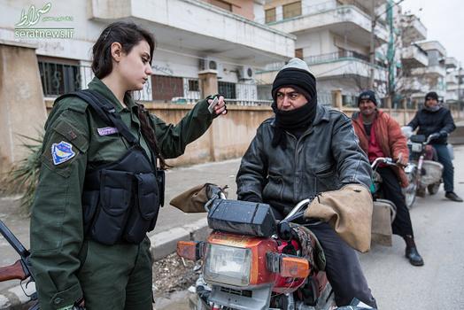 دختران شبه نظامی سوری,دختران ارتش سوریه,دختران ارتشی سوریه,زنان ارتشی سوریه