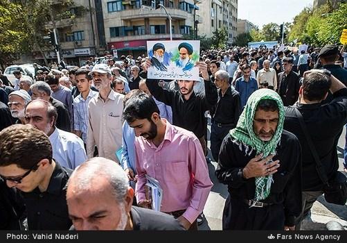 تصاویر/ راهپیمایی علیه آلسعود در تهران