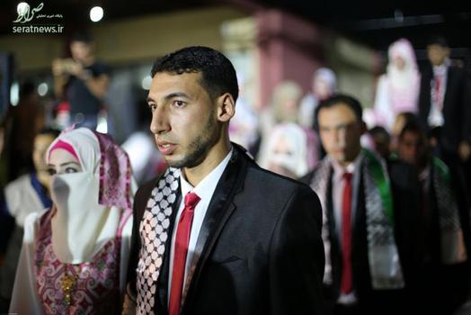 عروسی فلسطینی زن فلسطینی دختر فلسطینی جنایات اسرائیل ازدواج فلسطینی