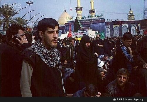 شهید مدافع حرم علی جمشیدی