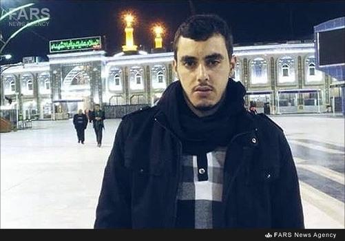 شهید مدافع حرم لبنانی خلیل ابراهیم