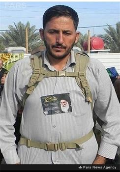 شهید مدافع حرم علی اکبر عربی