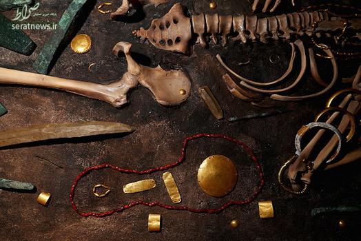 عکس های قدیمی ترین گنج جهان, قدیمیترین گنج طلایی بشریت,گنج قدیمی ترین