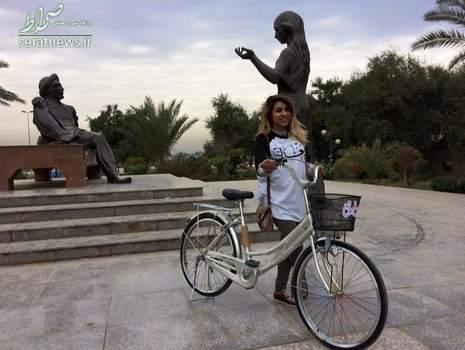 دوچرخه سواری دختران , ماراتن دوچرخه سواری دختران عراقی , دوچراخه سواری دختران عراقی , حضور دختران در دوچراخه سواری , دختران بی حجاب در عراق