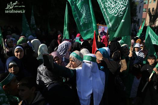 جشن سالروز تأسیس حماس , سالروز تأسیس حماس جنبش مقاومت , اسلامی فلسطین جشن حماس در غزه