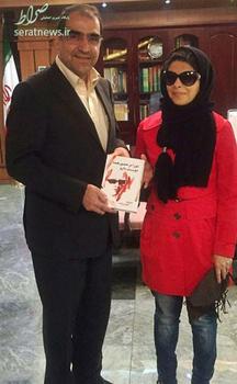 عکس یادگاری با مریم حیدرزاده