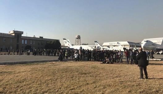 گزارش میزان استقبال رسانه ها از ورود هواپیما