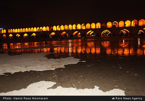resized 364487 290 - آب در زاینده رود مردم اصفهان را خوشحال کرد + تصاویر جاری شدن آب در زاینده رود