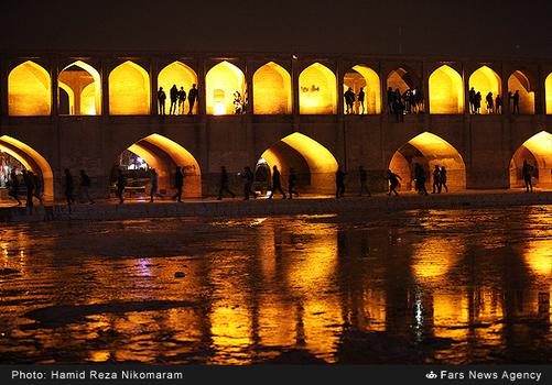 resized 364488 617 - آب در زاینده رود مردم اصفهان را خوشحال کرد + تصاویر جاری شدن آب در زاینده رود