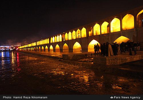 resized 364490 904 - آب در زاینده رود مردم اصفهان را خوشحال کرد + تصاویر جاری شدن آب در زاینده رود