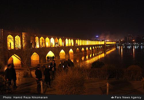 resized 364491 602 - آب در زاینده رود مردم اصفهان را خوشحال کرد + تصاویر جاری شدن آب در زاینده رود