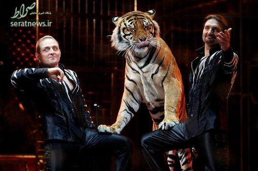 نفرات دوم مسابقات دلقک ها در جشنواره بین المللی سیرک - موناکو، فرانسه