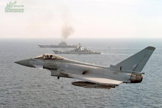 عبور ناو هواپیمابر آدمیرال کوزنتسوف و رزمناو پیوتر ولیکی روسیه از آبهای سرزمینی بریتانیا