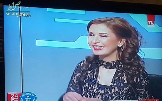 مجری نابینای تلویزیون دولتی لبنان , رکورد زنی مجری نابینا , مجری نابینای لبنان , رکورد زن لبنانی در اجرا