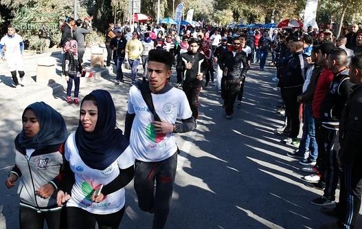 مسابقه دو ماراتن برای صلح در عراق , دو ماراتن برای صلح در عراق , مسابقه دو ماراتن برای صلح , دو ماراتن در بغداد