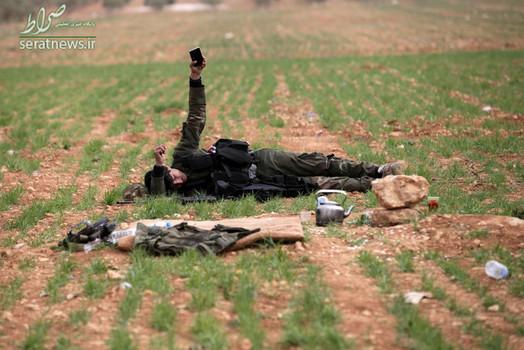 یک تروریست در الباب سوریه