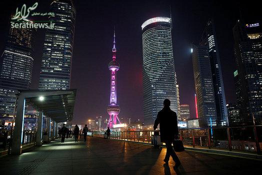 نمایی زیبا از منطقه پودانگ در شانگهای چین