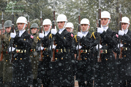 گارد احترام کاخ ریاست جمهوری ترکیه