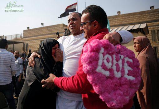 آزادی یکی از 203 زندانی زندان تورا پس از فرمان عفو عبدالفتاح السیسی رییس جمهور مصر