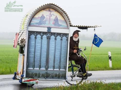 ساخت یک دوچرخه کلیسایی در آلمان