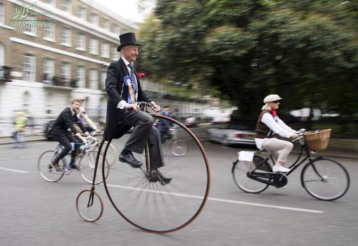 رقابت سالانه دوچرخه سواری در لندن