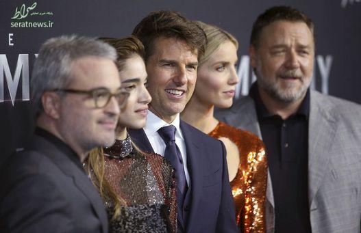 تام کروز، راسل کرو، آنابل والیس، سوفیا بوتلا بازیگران سینمای هالیوود به همراه الکس کورتزمن کارگردان آمریکایی