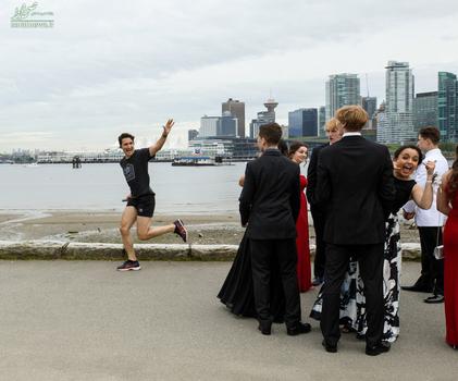 جاستین ترودو نخست وزیر کانادا در حال دویدن