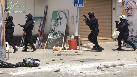 حمله نیروهای امنیتی بحرین به منطقه الدراز و منزل شیخ عیسی قاسم