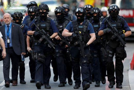 گشتزنی نیروهای پلیس لندن