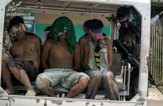 بازداشت سه مظنون تروریستی در مراوی فیلیپین
