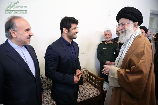 دیدار علیرضا کریمی با رهبر انقلاب/ تصاویر